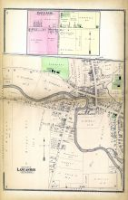 Town Line, Lancaster - West Part, Erie County 1880