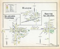 Alabama Center, Basom, South Alabama, Genesee County 1904
