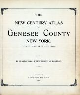 Title Page, Genesee County 1904