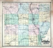 Genesee And Wyoming County New York Historical Atlas - Wyoming county maps