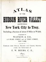 Title Page, Hudson River Valley 1891