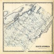 Alexandria, Jefferson County 1864