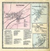 Antwerp, LaFargeville, Ox Bow, Plessis, Jefferson County 1864