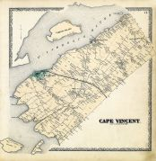 Cape Vincent, Jefferson County 1864