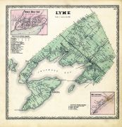 Lyme, Three Mile Bay, Wilcoxville, Jefferson County 1864