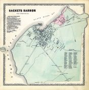 Sackets Harbor, Jefferson County 1864