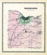 Watertown, Jefferson County 1864
