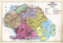 Index Map, Kings County 1890