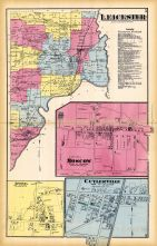Leicester, Moscow, Livonia, Cuylerville, Livingston County 1872