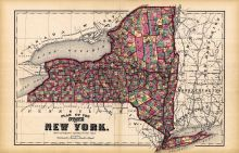 New York State - Plan Map, Livingston County 1872