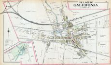 Caledonia Village, Livingston County 1902