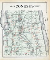 Conesus Town, Livingston County 1902
