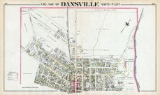 Dansville Village - North, Livingston County 1902