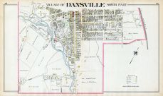 Dansville Village - South, Livingston County 1902