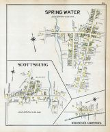 Spring Water, Scottsburg, Webster's Crossing, Livingston County 1902