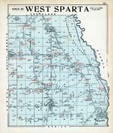 West Sparta Town, Livingston County 1902