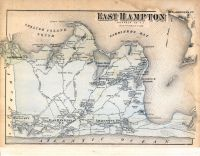 East Hampton Atlas Long Island 1873 New York Historical Map
