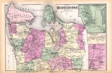 Huntington New York Map.Historic Map Works Residential Genealogy
