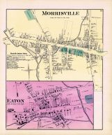 Morrisville, Eaton, Madison County 1875