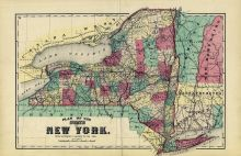 New York State - Plan, Madison County 1875
