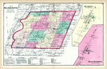 Monroe County New York Historical Atlas - Town of sweden zoning map