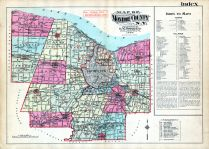 Index Map, Monroe County 1924