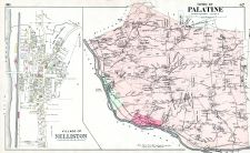 Nelliston Village, Palatine Town, Montgomery and Fulton Counties 1905