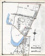 Baldwin - Northerly, Nassau County 1914 Long Island