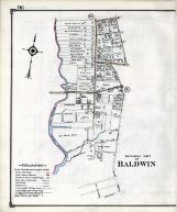 Baldwin - Southerly, Nassau County 1914 Long Island