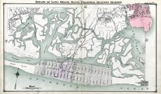 Estate of Long Beach, Bay's, Channels, Baldwin Harbor, Nassau County 1914 Long Island