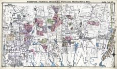 Freeport, Merrick, Bellmore, Wantach, Massapequa, Nassau County 1914 Long Island