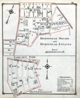 Hempstead Square and Hempstead Estates, Fairlawn Park, Nassau County 1914 Long Island