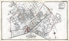 Lynbrook Northerly Part, Nassau County 1914 Long Island