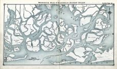 Merrick Bay, Channels, Jones' Inlet, Nassau County 1914 Long Island