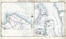 Sands Point, Center Island and Cove Neck, Nassau County 1914 Long Island