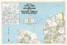 Title Page + Index Map, Nassau County 1939 Long Island
