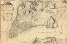 New York City 1776 From 1767 Survey, New York City 1776 From 1767 Survey