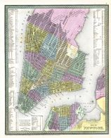 New York City 1850 Map