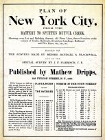 Title Page, New York City 1867 Dripps