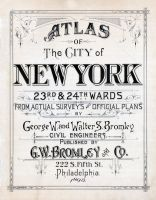 Title Page, New York City 1893 Wards 23 and 24