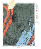 Historical Geology Sheet 001 - New Jersey - New York Paterson Quadrangle