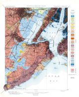 Surficial Geology Sheet 003 - New Jersey - New York Staten Island Quadrangle