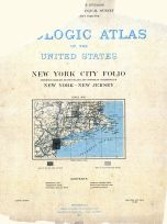 New York City 1902 Geological Atlas of the United States Vol 83
