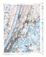 Topographic Sheet 002 - New York - New Jersey Harlem Quadrangle
