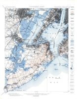 Topographic Sheet 003 - New Jersey - New York Staten Island Quadrangle