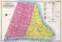 Index Map, New York City 1909 Vol 1 Revised 1915