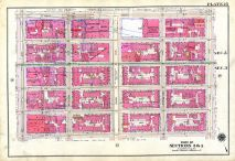 25, E42nd St., Third Ave., E37th St., Fifth, New York City 1909 Vol 2 Revised 1912