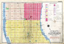 Index Map, New York City 1909 Vol 2 Revised 1912