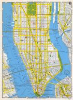 1949 Nyc Subway Map.New York City 1949 Five Boroughs Street Atlas New York Historical Atlas