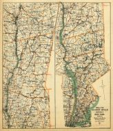 Hudson River District, New York State 1890 to 1908 Walker Maps